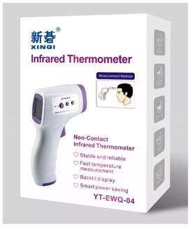 Termómetros digitales infrarrojos