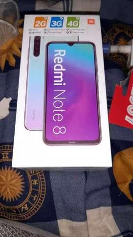 Vendo Xiaomi note 8