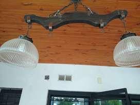 Vendo lámpara y apliques