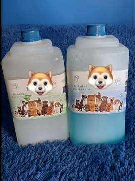 Shampoo hipoalergenico y antipulgas