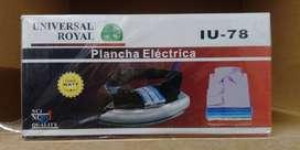 PLANCHA ELECTRICA MARCA UNIVERSAL IU-78
