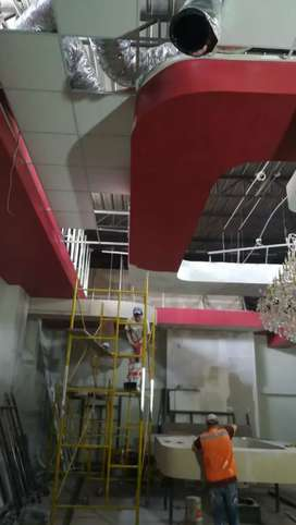 Trabajos drywall