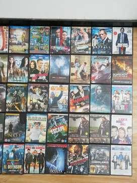 Colección de Películas en Dvd