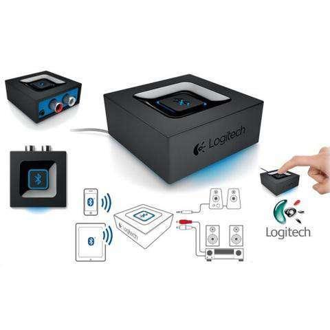 Adaptador De Audio Bluetooth Logitech, para parlantes, equipo, cine en casa 0