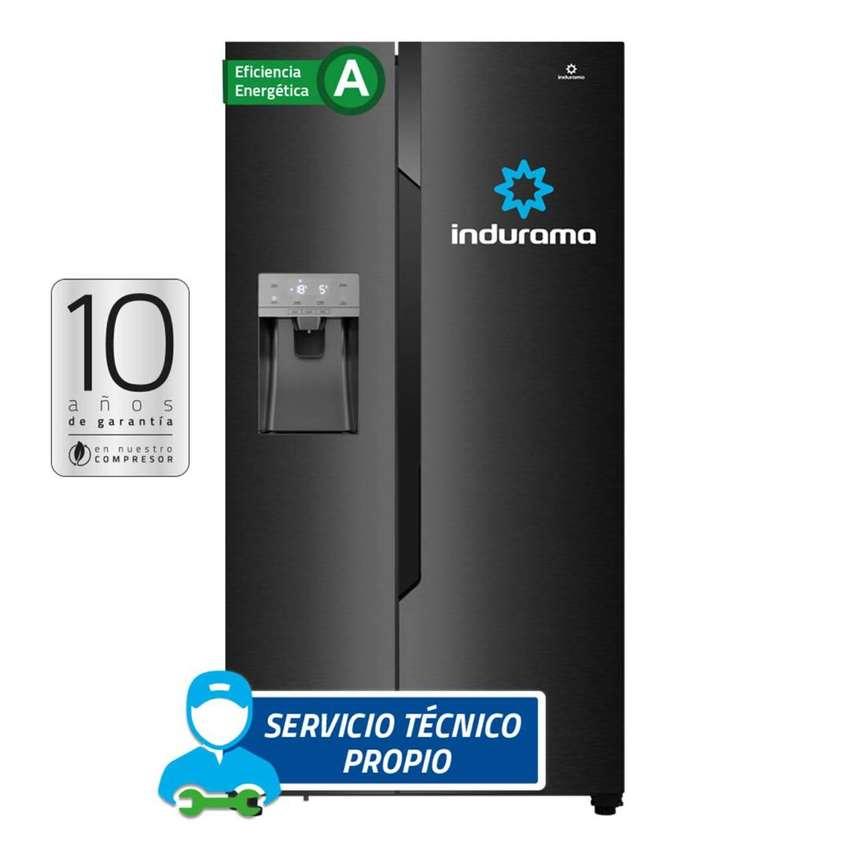 Refrigeradora INDURAMA  No Frost 535 Lts RI-799DH Black FACTURA 0