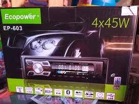 Stereo USB nuevo , todo sus accesorios