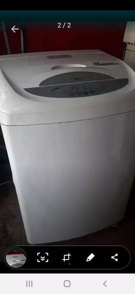 Lavadora lg 24-28 libras