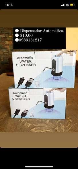Dispensador de agua automatico.