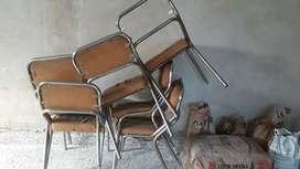 Vdo. 6 sillas para retapizar.