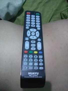 Oferta nuevo control remoto Universal Huayu para televisores LED y Lcd a solo veinte dólares. Soy de Guayaquil y hago