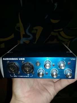 Placa Sonido Presonus Audiobox Usb 2x2