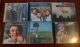 Lote de cd musicales