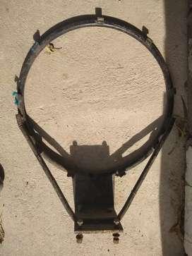 Vendo aro de basket medida 48,5 cm x  2,5 cm expesor aro