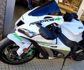 Kawasaki zx10-  2017 - única!!