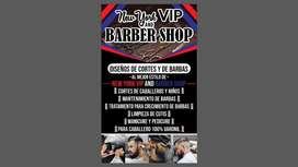 Peluqueria unisex a la vente New York Vip Barber Shop Arriendo super economico y sercicios muy economicos
