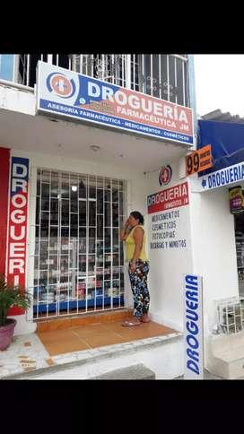 Vendo drogueria con 1 año de implementada y habilitada por el DADIS
