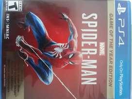 Juego de Ps4 Spiderman