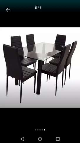 comedor 6 sillas remate
