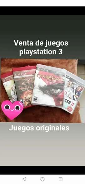 Juegos play station 3