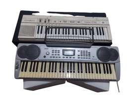 Teclado Musical Ringway y Casio. (precio por los 2)