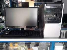 "PC GAMER INTEL CORE I3 DE 7A GEN 3,9 GHZ RAM 4GB HDD 500GB MONITOR ACER 19"""