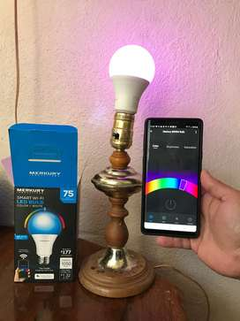 Foco LED Inteligente WiFi con App para Android, iOS