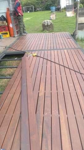Pisos Deck Madera