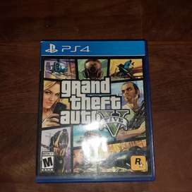 Gta V ps4 impecable con mapa