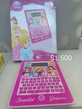 Tablet interactiva princesa disney