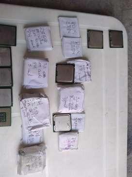 Combo Procesadores Pentium 4, D, dual core y core 2