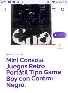 Mini consola juegos retro portátil,tipo Game