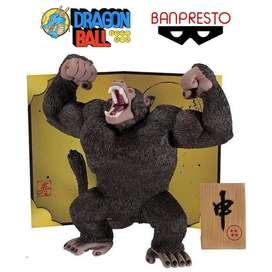 Figura Dragon Ball Ozaru Goku, Gohan, Vegeta, Broly – Banpresto.