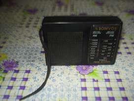 Radio Sonivox Am/fm De Bolsillo Se Escucha Mas O Menos,.leer