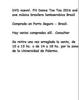 DVD música brasilera brasil lambaerobica350