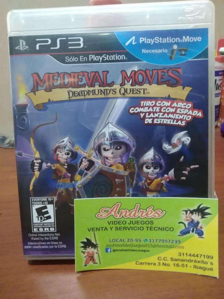 Medieval moves ps3 0