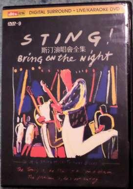 Sting. Bring of the Night. Dvd original.