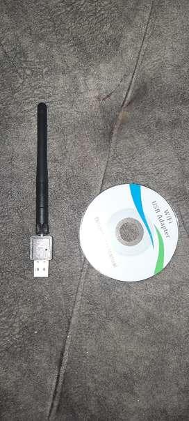 Red de wuif y disco de software