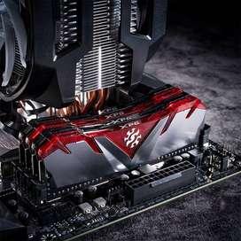 RAM 8 GB 3200 Mhz Adata D30 Gamix negra