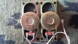 Parlantes Tv -12-51216D-XX0 - 5W 16 Ohms