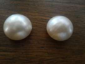 Perlas Naturales Grandes para Aretes Her