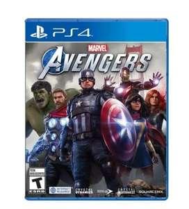 Avengers Ps4 Nuevo, Físico y sellado