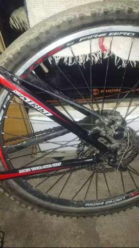 Vendo bicicleta SBK 24 velocidades