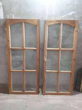 ventanas de cedro
