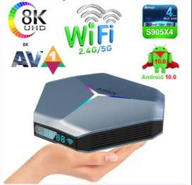 TV BOX Android 10 4/32 Mod. A95X F4 Amlogic S905X4