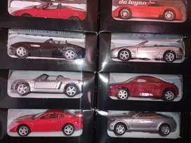 Colección 15 carros deportivos leyendas