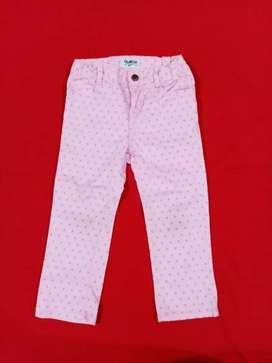 Pantalón drill stretch OshKosh talla 4