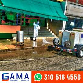 Hidrolavado, lavado de fachadas, limpieza