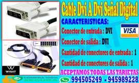 Cable Dvi A Dvi Señal Digital