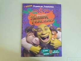 Art 202 Album de Figuritas Shrek Tercero con 15 Figuritas