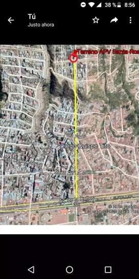 Vendo terreno de 190M2 en APV MIRADOR SANTA ROSA DE LIMA